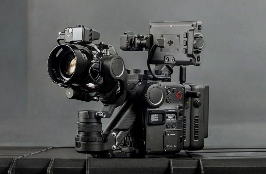 Profesjonalna kamera filmowa DJI Ronin 4D