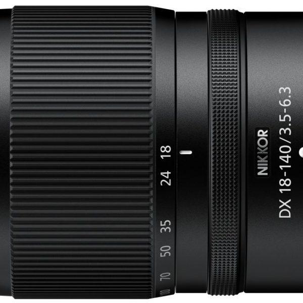 Obiektyw Nikkor ZDX 18-140mm F3.5-6.3 VR dla bezlusterkowców Nikon Zzmatrycami APS-C