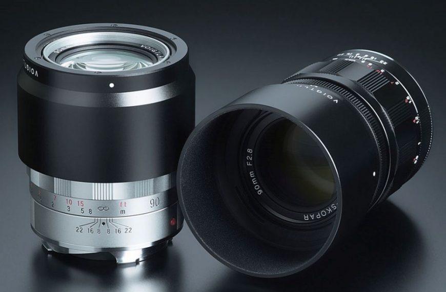 Obiektyw Voigtlander 90mm F2.8 Apo-Skopar wmocowaniu Leica M