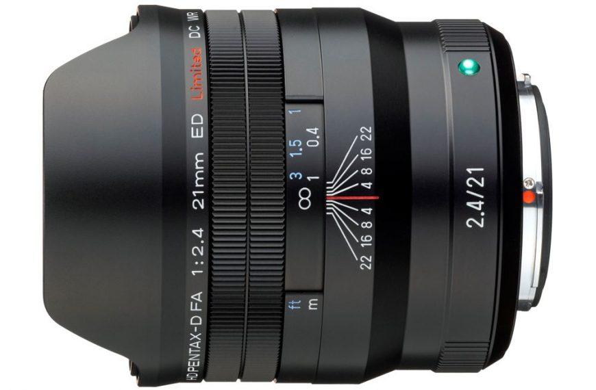 Obiektyw HD Pentax-D FA 21mm F2.4 ED Limited DC WR